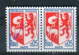 Variété N° Yvert 1468, Mot Postes Et Filet  épais Tenant à Normal, Neufs Luxe - Prix Fixe - Réf V 753 - Abarten: 1960-69 Ungebraucht