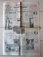 Journal La Depeche D Algérie Septembre 1961 Bizerte - Syrie - Attentat - Info Alger Medea Tizi Ouzou Blida Orléansville - 1950 à Nos Jours
