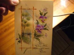Cp  Transparente     Peinture - Fancy Cards