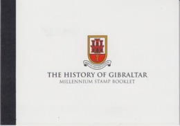 Gibraltar 2000 Millennium Stamp Booklet (with Europa Sympathy Stamp Inside) ** Mnh (44614) - Europese Gedachte