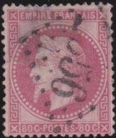 France  .   Yvert   .     32      .     O          .       Oblitéré - 1863-1870 Napoléon III. Laure
