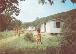 CPSM 30 @ SAINT PRIVAT DE CHAMPCLOS - Camping Libertin Le Ran Du Chabrier Au Château De Feyrerolles - Nudistes - Francia