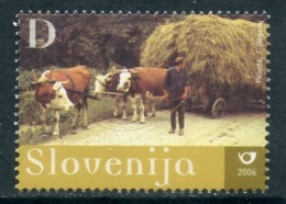 Slovenia 2006 593. Road Transport. From Leutrnik To The Seine. Fauna. Rural Transport - Landbouw