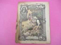 Couverture De Cahier D'écolier/Fables De La Fontaine/L'Avare Qui A Perdu Son Trésor/Cahier De Physique/Vers 1900  CAH242 - Papierwaren