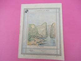 Couverture De Cahier D'écolier/La Géographie En Images/FIORD/Vers 1890-1900  CAH243 - Papeterie