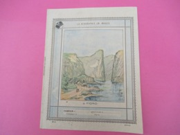 Couverture De Cahier D'écolier/La Géographie En Images/Cratére/Vers 1890-1900  CAH244 - Papierwaren