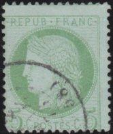 France  .   Yvert   .     53     .     O          .       Oblitéré - 1871-1875 Cérès