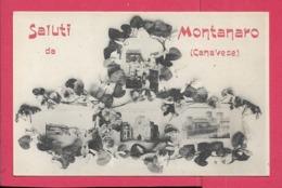 Montanaro Canavese (TO) - Piccolo Formato - Non Viaggiata - Altre Città