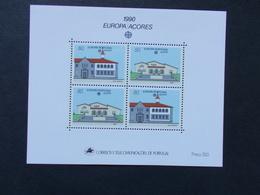 PORTUGAL / ACORES - Blocs Feuillets   N° 11  Europa Cept  Année 1990  Neuf XX ( Voir Photo )  10 - Blocks & Kleinbögen