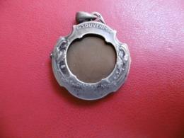 PORTE PHOTO EN ARGENT EN SOUVENIR MORT AU CHAMP D HONNEUR POEME DE VICTOR HUGO - Juwelen & Horloges
