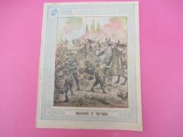 Couverture De Cahier D'écolier/Nouvelles Anecdotes Militaires/Bravoure Et Tactique/ Schuehmacher/ Vers 1890-1900  CAH245 - Papierwaren