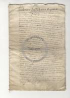 /!\ 1372 - Parchemin - 1750 - Commune De Viarmes (95) - Manuscrits