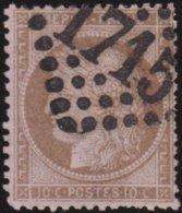 France  .   Yvert   .     58     .     O          .       Oblitéré - 1871-1875 Cérès