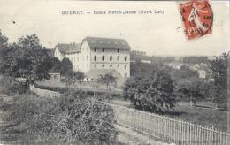 GUERET  ECOLE NOTRE-DAME  (nord-est)  1913 - Guéret