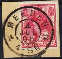 Grootrond GRHK 507 Meeden Op 60 - Marcophilie