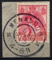 Grootrond GRHK 517 Menaldum Op 60 - Marcophilie