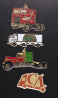 59743-lot De 4 Pin's .transport.camion... - Transports