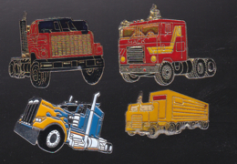 59744-lot De 4 Pin's .transport.camion... - Transports