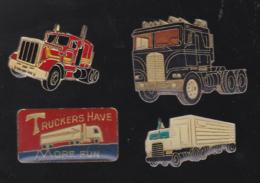 59745-lot De 4 Pin's .transport.camion... - Transports