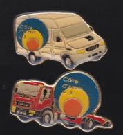 59746-lot De 2 Pin's .transport.camion... - Transports