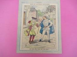 Couverture De Cahier D'écolier/Mots Et Locutions Populaires/ Que Diable Allait-il../ Gedalge & Cie/Vers1890-1900  CAH247 - Papierwaren