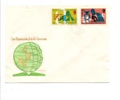 CUBA FDC 1970 ANNEE INTERNATIONALE DE L'EDUCATION - FDC