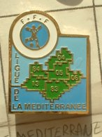 PIN'S  FOOTBALL -  LIGUE DE LA MEDITERRANEE - Football