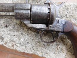 Revolver Lefaucheux Cal12mm - Decotatieve Wapens