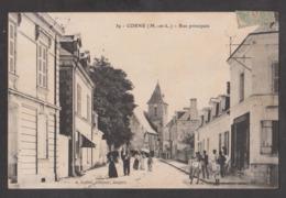 CPA CORNE-Rue Principale-Animée- - France