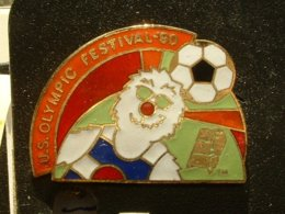 PIN'S  FOOTBALL -  U.S OLYMPIC FESTIVAL 90 - Football