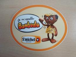 AUTOCOLLANT SAINT MICHEL JE M'APPELLE BAMBOULA - Stickers