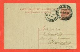 INTERI POSTALI - C 37/14  AMBULANTE ALESSANDRIA - CAVALLERMAGGIORE - 1900-44 Vittorio Emanuele III