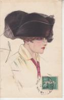 Illustrateur NANNI - Femme Au Chapeau  PRIX FIXE - Nanni