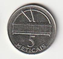 Mozambique - 5 METICAIS Metical - 2012 - KM# 139 - Mozambique