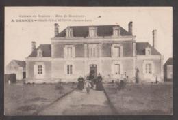 CPA BRAIN-SUR-L'AUTHION-A.DESBOIS-Culture De Graines-Blés De Semences-Animée-Maison D'habitation- - Other Municipalities