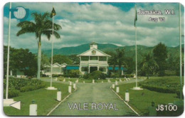 Jamaica - C&W - Vale Royal, 15JAMA, 100J$, 1993, Used - Giamaica