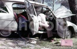60s CITROEN AMI 6 CAR VOITURE ESPAGNE SPAIN ESPANA  35mm DIAPOSITIVE SLIDE Not PHOTO No FOTO B4160 - Diapositives
