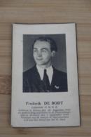 Ninove WO2 Verzet Foto  Luitenant OMBR Vermoord Brussel 1944 De Bodt - Religion & Esotérisme