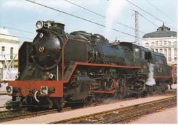 Nº 25 POSTAL DE UNA LOCOMOTORA EN LLEIDA  (TREN-TRAIN-ZUG) AMICS DEL FERROCARRIL - Trenes