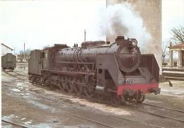 Nº47 POSTAL DE ESPAÑA DE UNA LOCOMOTORA 241-F-2095 EN FUENTES DE OÑORO  (TREN-TRAIN-ZUG) AMICS DEL FERROCARRIL - Trenes