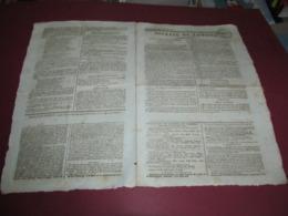 HISTOIRE DU CANADA / DES ETATS-UNIS - MONTREAL - QUEBEC - GENERAL HARRISON - GENERAL HULL - 1812 - Newspapers