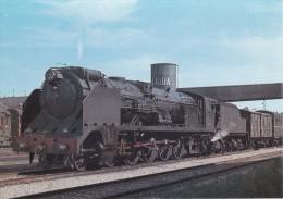Nº 43 POSTAL DE LA LOCOMOTORA MONTAÑA EN ESTACION DE LLEIDA DEL AÑO 1969  (TREN-TRAIN-ZUG) AMICS DEL FERROCARRIL - Trenes