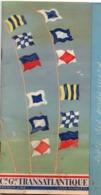 Paquebot Flandre - Liste Des Passagers Juin 1961 - Croisière Ecosse - CGT Générale Transatlantique - 24 X 13 Cm - Bateaux
