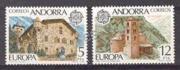 Andorra - 1978, Europa E=117-18 S=103-04 (**) - Andorra Española