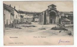 Ecouviez - Place De L'Eglise - Ed. Raty à Virton - France