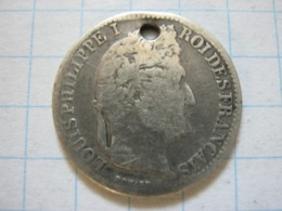 50 Centimes 1846 (A) - G. 50 Céntimos
