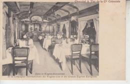 Dans Le Wagon Restaurant De La Cié Int. Des Wagons Lits & Des Grands Express Européens - Trains