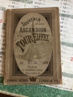 Souvenir De Mon Ascension à La Tour Eiffel (livre De 96 Pages De 10 Cm Sur 13,6cm) - Tourisme