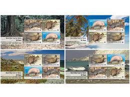 Australian Territories, 2011. Marine Life, WWF (4 S\s) - Unused Stamps
