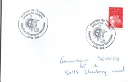 BPM 663 - 2000 - Poste Militaire à Mitrovica Kosovo Yougoslavie - Trident Casque Gaulois Vercingétorix - Postmark Collection (Covers)